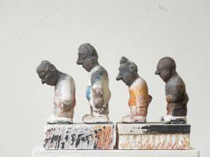 Eberhad Szejstecki • Polonäse • Terrakotta • 23 x 30 x 17 cm