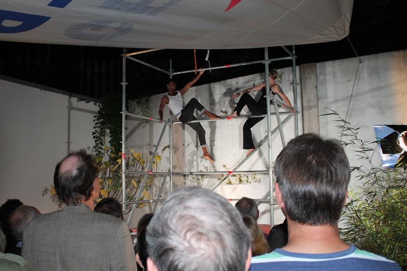 Tanzperformance mit Katrin Banse und Vladimir Da Rosa Freitas – Nacht der Museen 2014