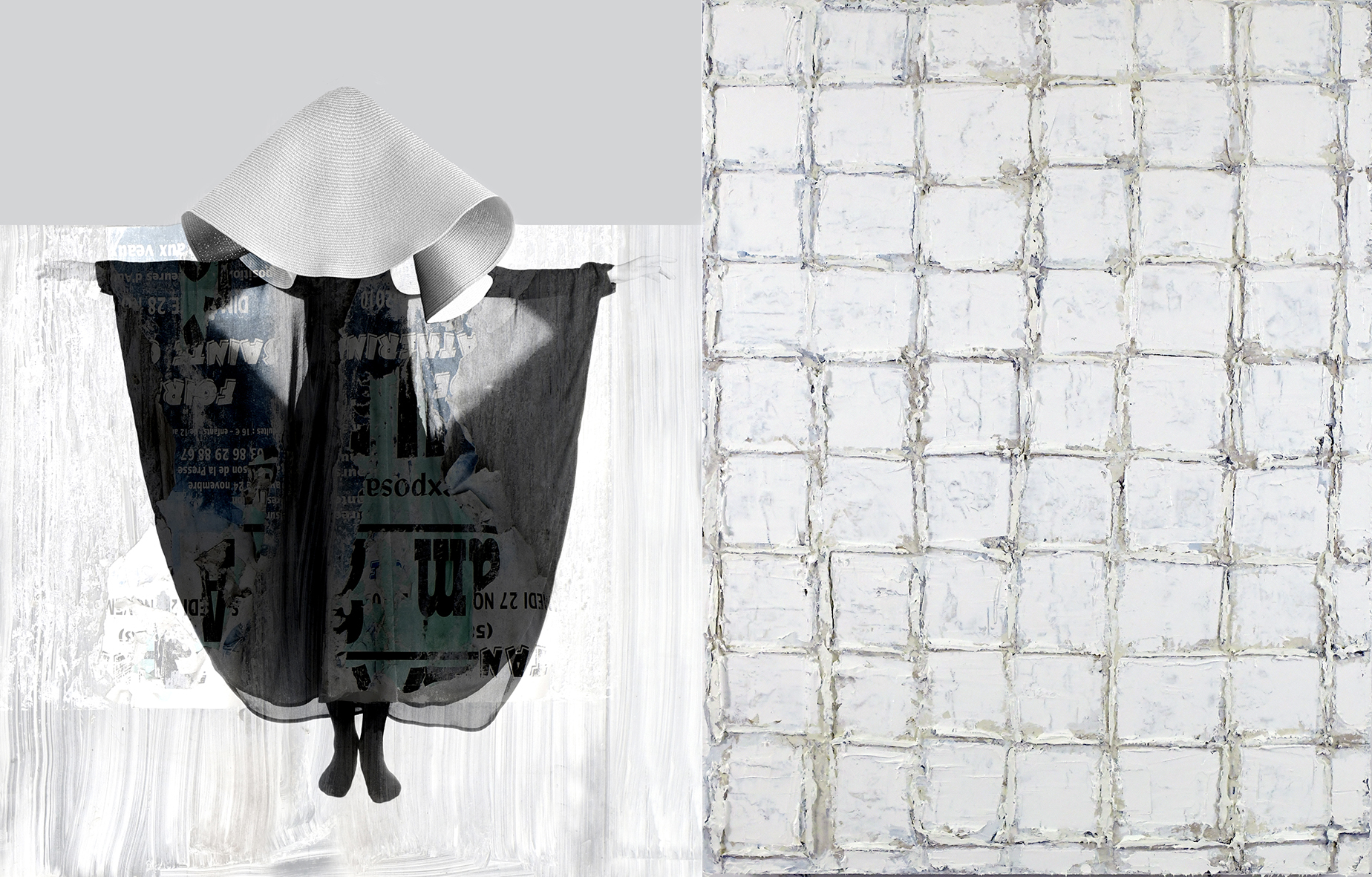 Dyptichon • Fotografie, Öl auf Leinwand • 60 x 40 cm